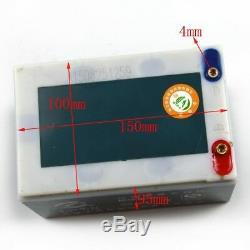4 Packs 12v 12ah 6-dzm-12 Batterie Scooter Électrique En Fauteuil Roulant Atv Quad Go Karts