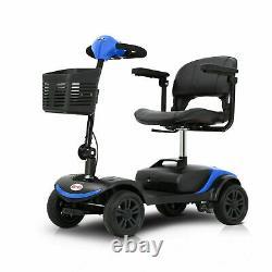 4 Roues De Mobilité Scooter Alimenté En Fauteuil Roulant Dispositif Électrique Compact Pour Le Voyage