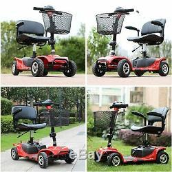 4 Roues Scooter Électrique De Mobilité Powered Dispositif Fauteuil Roulant Mobile Pour Adultes