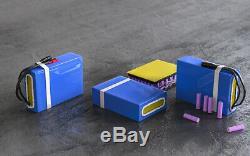 48v 20ah Ebike Batterie Li-ion Pour 750w 1000w Scooter Électrique Vélo Fauteuil Roulant