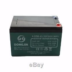 4pcs 12v 12ah 6-dzm-12 Batterie Pour Scooter Électrique En Fauteuil Roulant Go Kart Atv Tondeuse