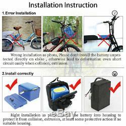 72v 30ah Ebike Batterie Pour 2000w 3000w Scooter Électrique Vélo Tricycle En Fauteuil Roulant