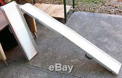 7ft Fauteuil Roulant Scooter Pliant En Aluminium Rampe Largeur Variable Handicap 2 Partie 600 #