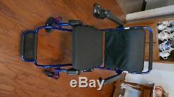Air Hawk Léger Fold Fauteuil Roulant Électrique D'énergie Électrique Scooter Chaise Roue