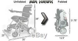 Airhawk Fauteuil Roulant Électrique Scooter (avec Garantie)