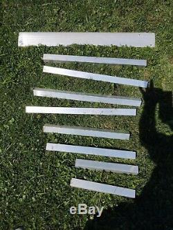 Aluminium Scooter Fauteuil Roulant Handicap Rampe, 20' Rampe, Avec La Plate-forme, Pick Up