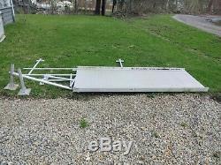 Aluminium Scooter Fauteuil Roulant Handicap Rampe, 30' Rampe, Avec 2 Plate-forme, Pick Up Seulement