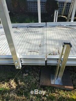 Aluminium Scooter Fauteuil Roulant Handicap Rampe, 30' Rampe, Avec 3 Plate-forme, Pick Up Seulement