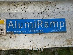 Aluminium Scooter Fauteuil Roulant Handicap Rampe Droite, 22' Long, Pick Up Seulement