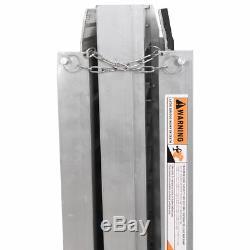 Antidérapage Portatif De Rampe De Mobilité De Scooter De Fauteuil Roulant De Chargement En Aluminium De 10 '