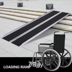 Antidérapant Portatif De Mobilité De Scooter De Fauteuil Roulant En Aluminium De Rampe De Handicap De 6 '