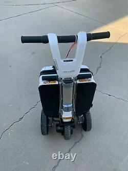 Atto Deluxe Folding Lightweight Mobility Scooter Moving Life Travel Fauteuil Roulant