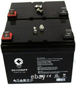 Batterie Sps Brand 12v 35ah Pour Scooter En Fauteuil Roulant Electric Mobility Rascal 318