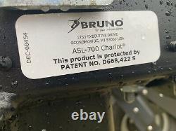 Bruno Chariot Électrique Fauteuil Roulant Scooter Ascenseur 350 Lb Capacité De Levage