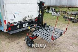 Bruno Chariot Modèle Asl-700 Electric Wheelchair Scooter Lift 350 Lb Lift Cap