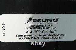 Bruno Chariot Modèle Asl-700 Fauteuil Roulant Électrique/ascenseur Scooter