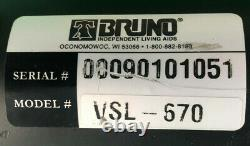 Bruno Motor Pour Bruno Vehicle Wheelchair & Scooter Lift Vsl-670 -mdc-12006