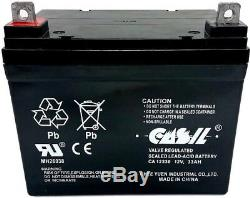 Casil 12v 35ah Jazzy Select Gt Scooter Fauteuil Motorisé Batterie Pack 2