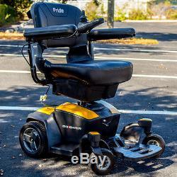 Chaise Électrique Go-chair Pride Mobility Travel À Usage Électrique 18ah Neuf Couleur Jaune