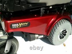 Chaise Roulante Électrique Jazzy 1113 Batteries Quantum Nouveau