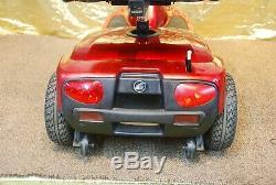 Compagnon D'or Électrique 3 Roues Fauteuil Roulant Scooter Avec Capitaines Red Seat