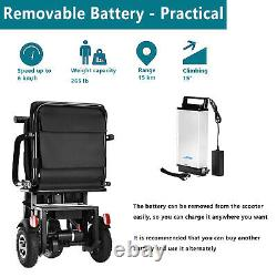 Eazingo 3 Roues Pliant Scooter De Mobilité Électrique Électrique Électrique En Fauteuil Roulant