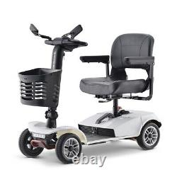 Electric Drive Medical Power Scooter 4wheel Travel Mobility Fauteuil Roulant Pour Adultes