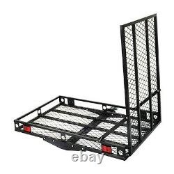 Electric Wheelchair Hitch Carrier Scooter Mobility Ramp Forte Capacité De 500 Lbs