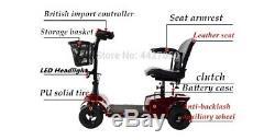 Elite Traveler Plus 4 Roues Heavy Duty Scooter Fauteuil Roulant Électrique
