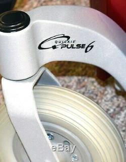Fauteuil Motorisé Pour Scooter De Mobilité Quickie Pulse6 Super Sympa Sans Roue