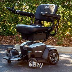 Fauteuil Motorisé Pride Go-chair Travel Electric Mobility Utilisé Avec Piles 18ah, Blanc