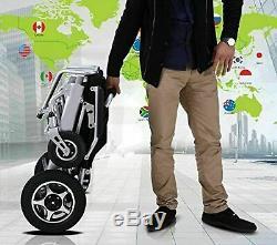 Fauteuil Roulant De Scooter Électrique De Puissance De Fauteuil Roulant Électrique De Pli Léger De Voyage Aérien