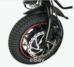 Fauteuil Roulant Électrique Attachable De Scooter De Handbike De Handbike De Vélo Électrique De 36v / 350w 8.8ah Nouveau