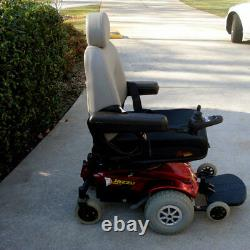 Fauteuil Roulant Jazzy Select Power Wheelchair Avec Contrôleur Gc Seulement Utilisé 5 Fois