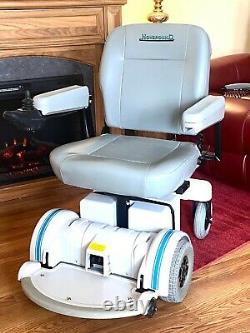 Fauteuil Roulant Motorisé Hoveround Monospace 5 Petites Heures Semble -fonctionne Très Bien 20 Sièges
