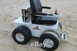 Fauteuil Roulant Tout Terrain Motorisé Électrique Pour Plage Sand Helper