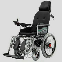 Fauteuils Roulants Électriques Scooter Personnes Âgées Handicapées Double Moteurs Puissance Pliant Portable