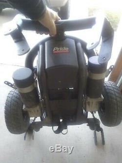 Fierté J6 Fauteuil Roulant Électrique Mobilité Électrique Scooter Bleu Base & Cover, No Seat