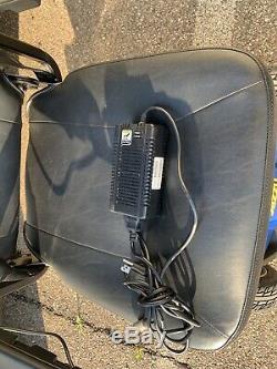 Fierté Jazzy Elite Es Portable Président Très Peu D'utilisation Scooter Fauteuil Roulant Électrique