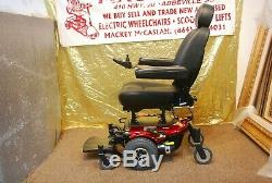 Fierté Jazzy J6 Electric Power Fauteuil Roulant Scooter