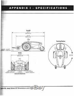 Fierté Jazzy Select Gt Chaise Fauteuil Roulant Électrique Scooter De Mobilité