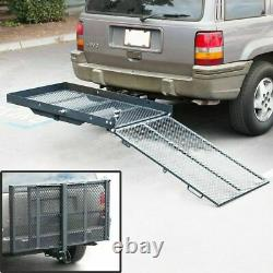 Fold Up Mobility Carrier Fauteuil Roulant Électrique Scooter Rack Hitch Medical Ramp