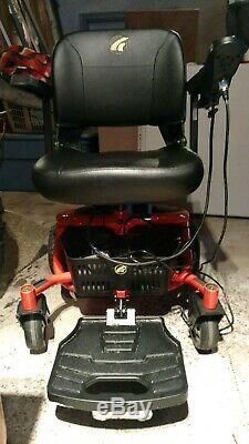 Gp162 Or Technologies Literider Envy Elèctric Powerchair. Rouge