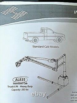 Harmar Al835 Pick-up 350lb Mobility Lift Pour Fauteuil Roulant / Scooter