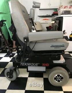 Hoveround Teknique Xhd Fauteuil Motorise Fauteuil Roulant Série II 2 Mobile Scooter