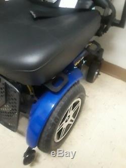 Invacare Pronto Power Chair Fauteuil Roulant Électrique Scooter De Mobilité M51 Menthe 300 Lb