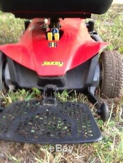 Jazzy Électrique Chaise Électrique Scooter De Mobilité, Nouvelle Batterie, Option D'expédition