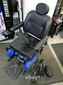 Jazzy Elite 14 Mobilité Électrique Fauteuil Roulant Scooter Électrique Chaise Avec Chargeur