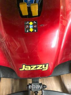 Jazzy Elite Es-1 Scooter De Mobilité En Fauteuil Roulant Motorisé + 2 Nouvelles Batteries + Chargeur
