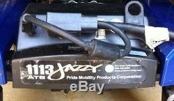 Jazzy Fauteuil Motorise 1113 Ats. Les Nouvelles Batteries
